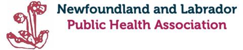 Newfoundland & Labrador Public Health Association Logo